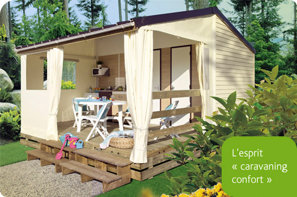 Location Bungalow Tithome Esprit caravaning 5 places